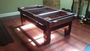 Correctly performing pool table installations, Florence South Carolina